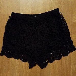 Lush Shorts - LUSH CROCHET SHORT